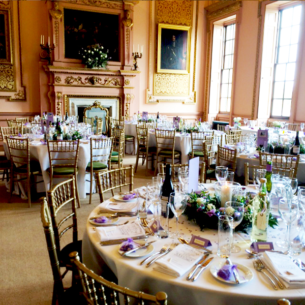 Stanford Hall Exclusive Wedding Venue Ballroom Breakfast